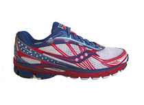 saucony Men\'s ProGrid Ride 5 red/blue/white